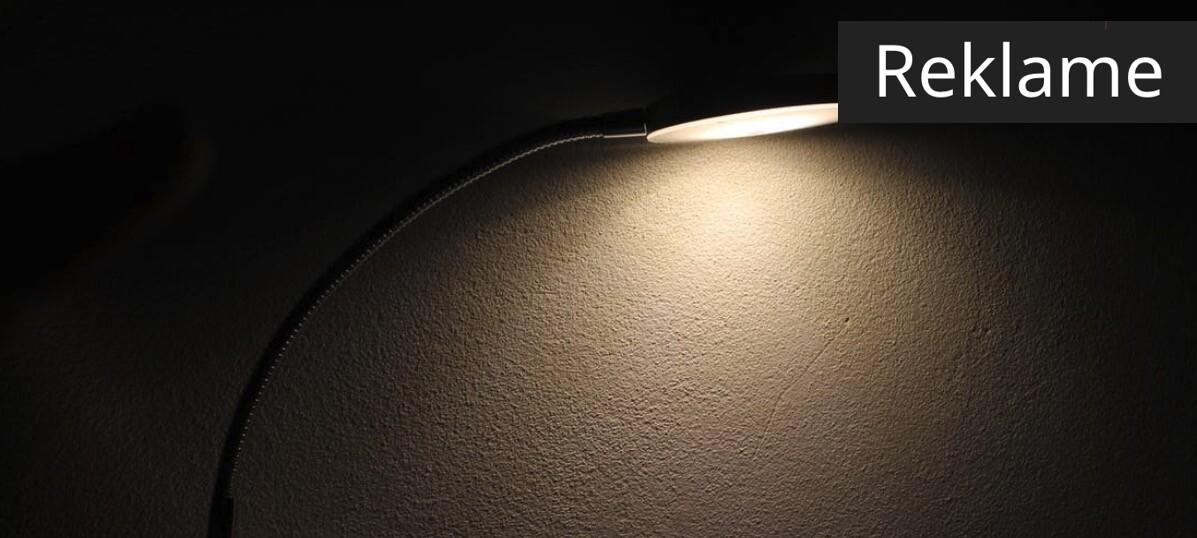 Vælg først og fremmest lyskilde efter funktion.