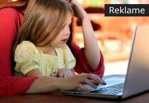 barn på computer